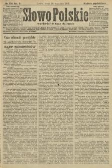 Słowo Polskie (wydanie popołudniowe). 1906, nr436