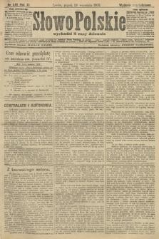 Słowo Polskie (wydanie popołudniowe). 1906, nr440