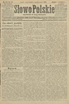 Słowo Polskie (wydanie popołudniowe). 1906, nr443