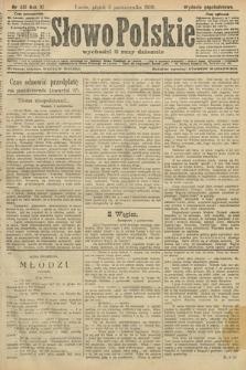 Słowo Polskie (wydanie popołudniowe). 1906, nr451