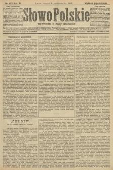 Słowo Polskie (wydanie popołudniowe). 1906, nr457