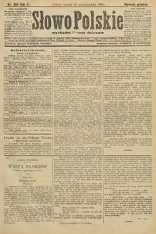 Słowo Polskie (wydanie poranne). 1906, nr468