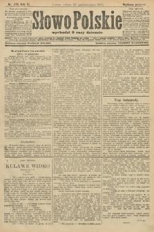 Słowo Polskie (wydanie poranne). 1906, nr476