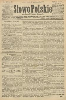 Słowo Polskie (wydanie poranne). 1906, nr480