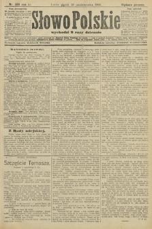 Słowo Polskie (wydanie poranne). 1906, nr486