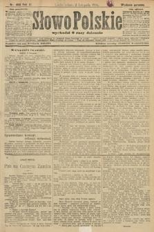 Słowo Polskie (wydanie poranne). 1906, nr499