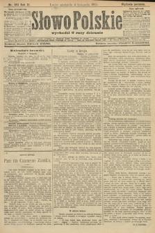 Słowo Polskie (wydanie poranne). 1906, nr501