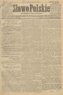 Słowo Polskie (wydanie poranne). 1906, nr505