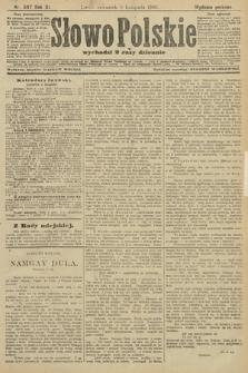 Słowo Polskie (wydanie poranne). 1906, nr507