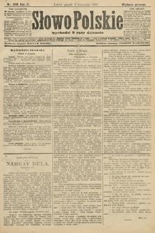 Słowo Polskie (wydanie poranne). 1906, nr509