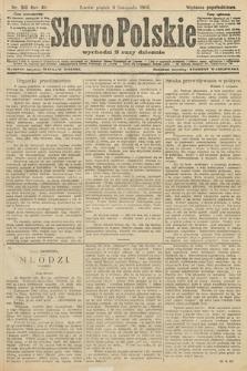 Słowo Polskie (wydanie popołudniowe). 1906, nr510