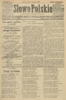 Słowo Polskie (wydanie popołudniowe). 1906, nr548