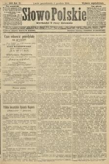 Słowo Polskie (wydanie popołudniowe). 1906, nr550