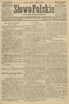 Słowo Polskie (wydanie poranne). 1906, nr551