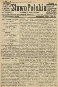 Słowo Polskie (wydanie popołudniowe). 1906, nr552