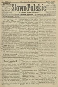 Słowo Polskie (wydanie poranne). 1906, nr568