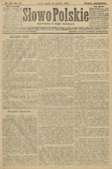 Słowo Polskie (wydanie popołudniowe). 1906, nr569