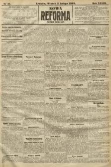 Nowa Reforma (numer poranny). 1909, nr51