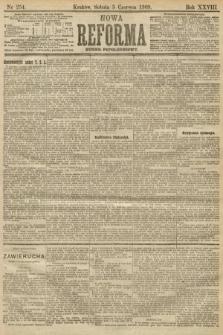 Nowa Reforma (numer popołudniowy). 1909, nr254