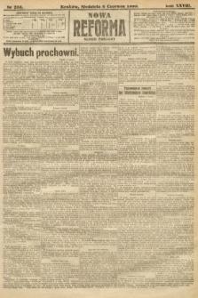 Nowa Reforma (numer poranny). 1909, nr255