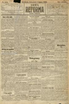 Nowa Reforma (numer poranny). 1909, nr293