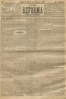 Nowa Reforma (numer popołudniowy). 1909, nr414