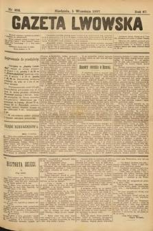 Gazeta Lwowska. 1897, nr 203