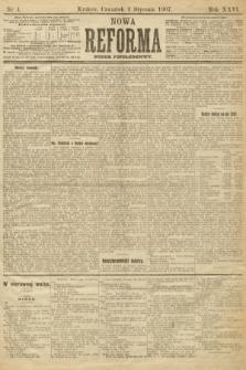 Nowa Reforma (numer popołudniowy). 1907, nr4