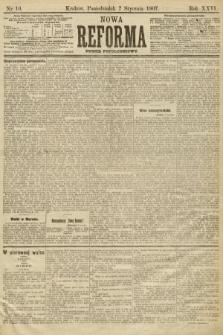 Nowa Reforma (numer popołudniowy). 1907, nr10