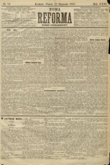 Nowa Reforma (numer popołudniowy). 1907, nr18