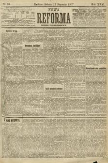 Nowa Reforma (numer popołudniowy). 1907, nr20