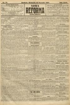 Nowa Reforma (numer popołudniowy). 1907, nr21