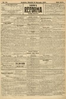 Nowa Reforma (numer poranny). 1907, nr23