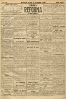 Nowa Reforma (numer poranny). 1907, nr25