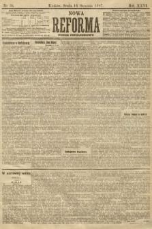 Nowa Reforma (numer popołudniowy). 1907, nr26