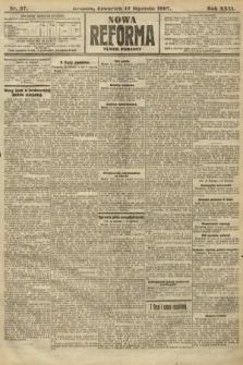 Nowa Reforma (numer poranny). 1907, nr27