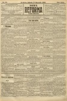 Nowa Reforma (numer poranny). 1907, nr31