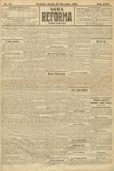 Nowa Reforma (numer poranny). 1907, nr37