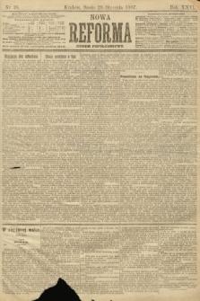 Nowa Reforma (numer popołudniowy). 1907, nr38