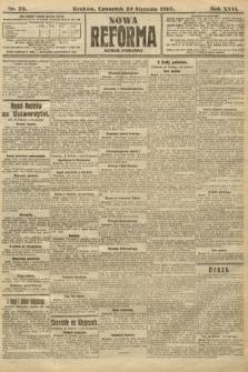 Nowa Reforma (numer poranny). 1907, nr39