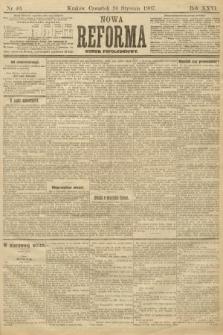Nowa Reforma (numer popołudniowy). 1907, nr40