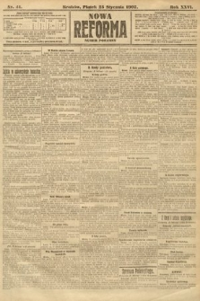 Nowa Reforma (numer poranny). 1907, nr41