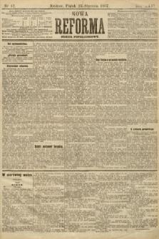 Nowa Reforma (numer popołudniowy). 1907, nr42