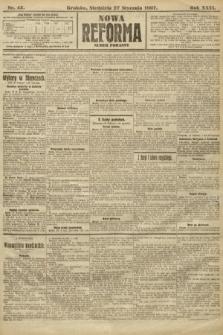 Nowa Reforma (numer poranny). 1907, nr45