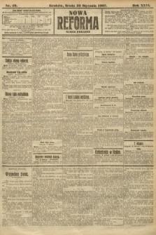 Nowa Reforma (numer poranny). 1907, nr49