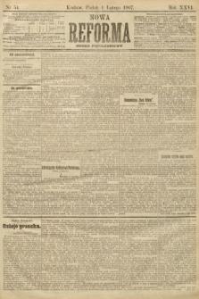 Nowa Reforma (numer popołudniowy). 1907, nr54
