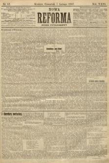 Nowa Reforma (numer popołudniowy). 1907, nr62