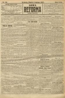 Nowa Reforma (numer poranny). 1907, nr63