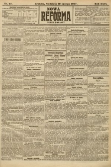 Nowa Reforma (numer poranny). 1907, nr67