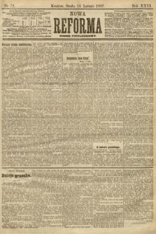 Nowa Reforma (numer popołudniowy). 1907, nr72